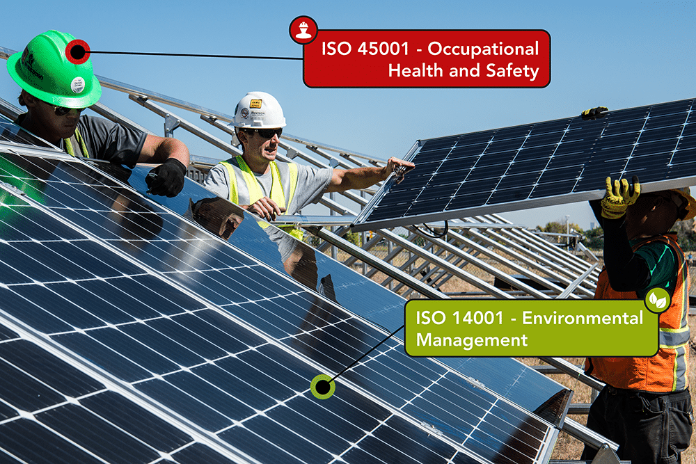 What is the difference between ISO 45001 and 14001?