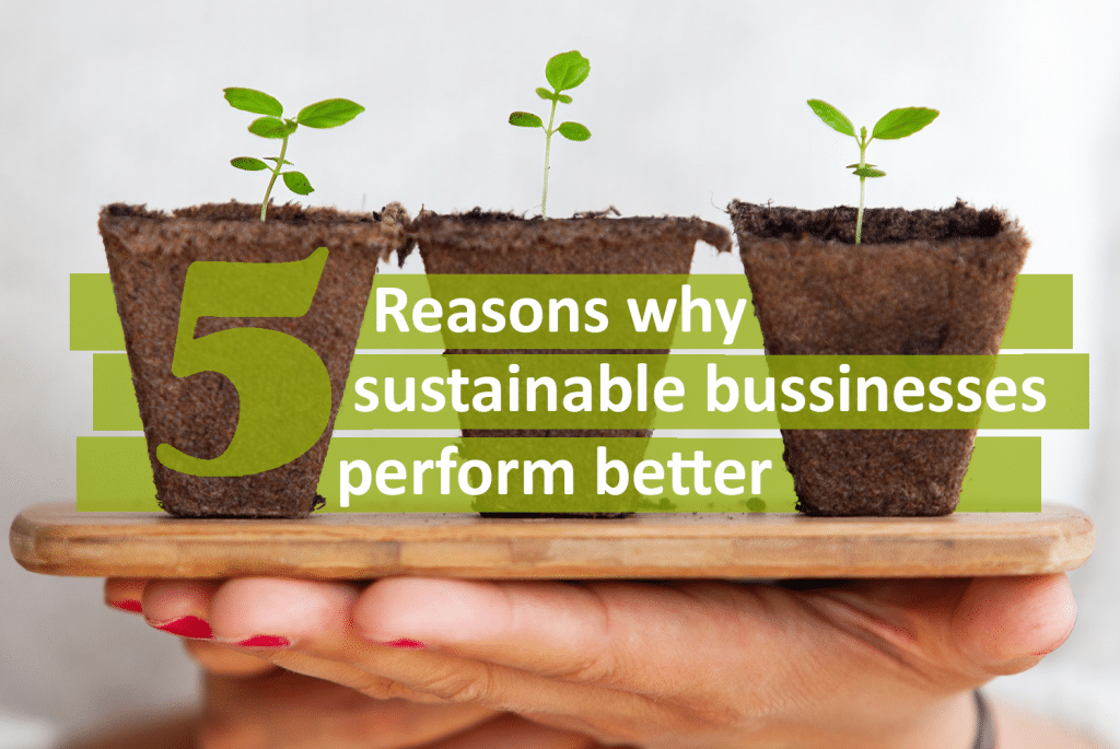 5 reasons why sustainable businesses perform better - Feature